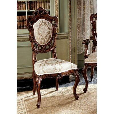 Toulon French Rococo Fabric Side Chair