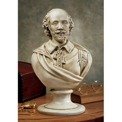 William Shakespeare Desktop Sculptural Bust