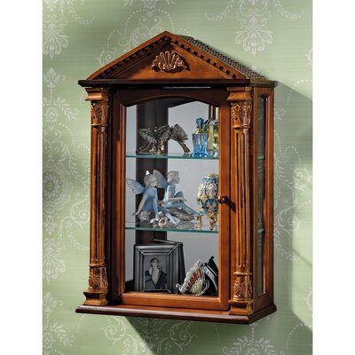 Essex Hall Wall-Mounted Curio Cabinet
