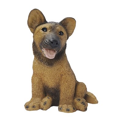 German Shepherd Puppy Dog Figurine CF247