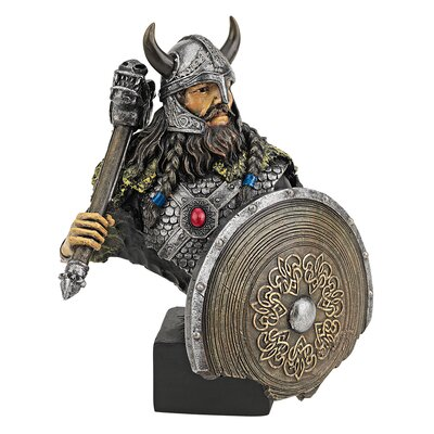 Viking Warrior with Thor's Thunder Hammer Figurine CL5999