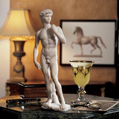 Bonded Marble David Figurine