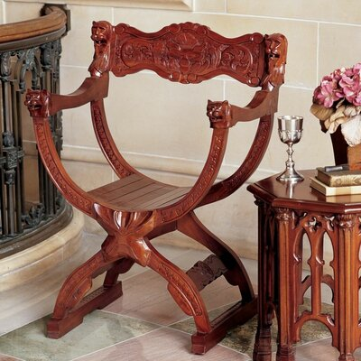 Medieval Cross Frame Arm Chair