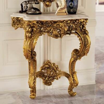 Madame Antoinette Wall Console Table KY619