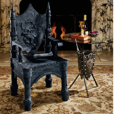 The Dragon of Upminster Castle Throne Armchair