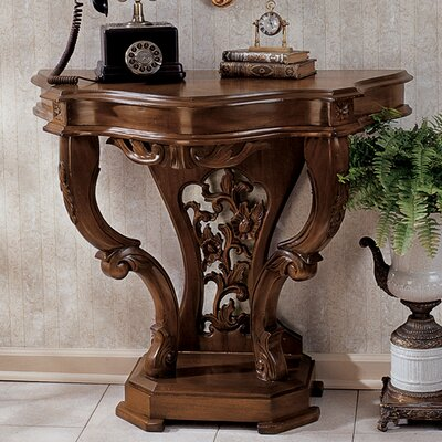 The Val de Loire Console Table Finish: Mahogany