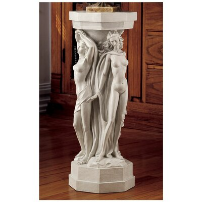 Caerlaverock Maenads Sculpture Pedestal Plant Stand