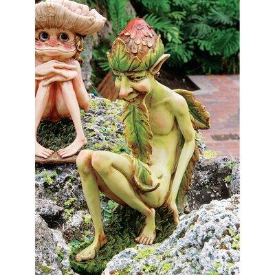 Statue Gartenzwerg Theodor | Garten > Dekoration > Gartenzwerge | Grün | Design Toscano