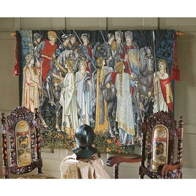 The Arming and Departure of the Knights Medium Tapestry