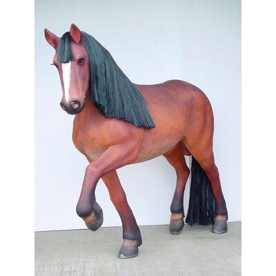 Thunder Ridge Prancing Quarter Horse Filly Statue YB1949
