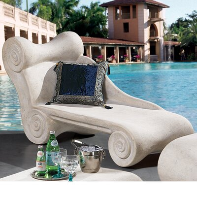 Hadrians Villa Roman Chaise Lounge