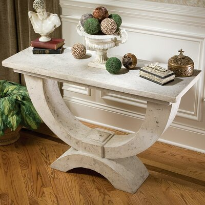 The Moderno Arch of Stone Console Table