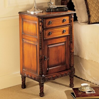 Lord 2 Drawer Nightstand