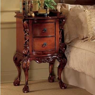 Chateau 2 Drawer Nightstand