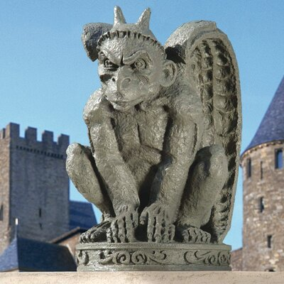 The Cathedral Gargoyle Statue Quantity: Set of 2 DB924216