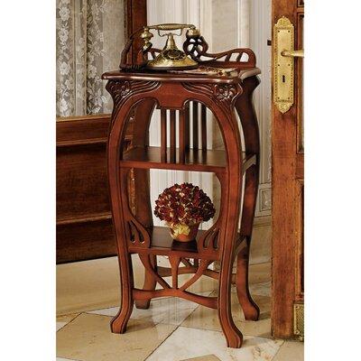 Art Nouveau Harp End Table