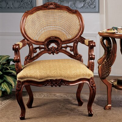 Chateau Marquee Occasional Fabric Arm Chair