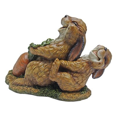 The Carrot Crew Rabbit Statue HF308426