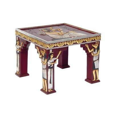 Egyptian Temple of Khafre Ornamental End Table