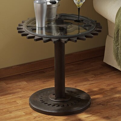 Rent to own Industrial Age Gears End Table...