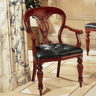 Simsbury Manor Leather Armchair