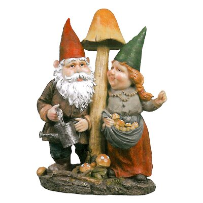 Outdoor decor mushroom for Gnome 3 decoration fenetre