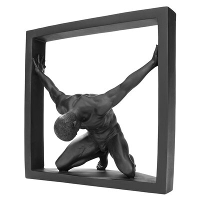 Boxed In Modern Male Nude Bowing Figurine WU75777