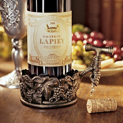 Vineyards Harvest 1 Bottle Tabletop Wine Rack