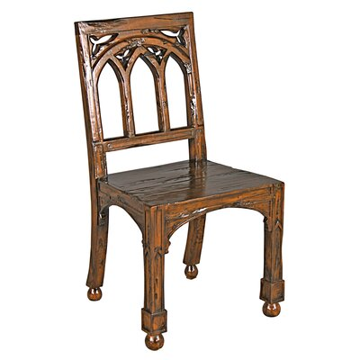 Gothic Revival Rectory Side Chair Color: Single