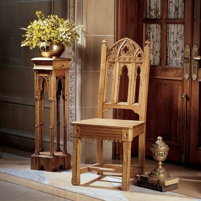 Sudbury Pine Gothic Solid Wood Dining Chair Quantity: Set of 6