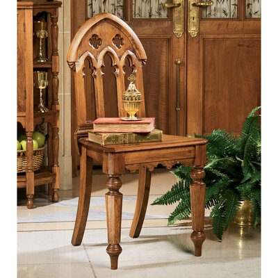 The Abbey Gothic Revival Side Chair Color: Set of 2
