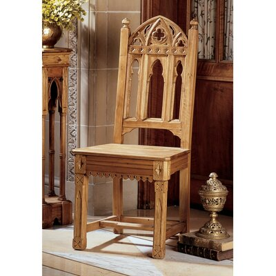 Sudbury Pine Gothic Solid Wood Dining Chair Quantity: Set of 2