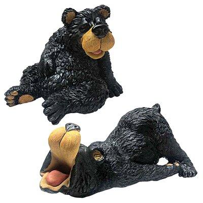 2 Piece Mountain Mayhem Bear Buddies Figurine Set