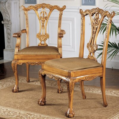 English Chippendale Dining Chair