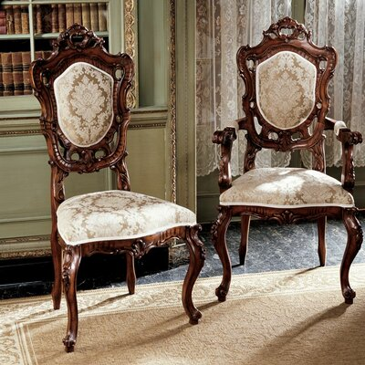 Toulon French Rococo Dining Chair