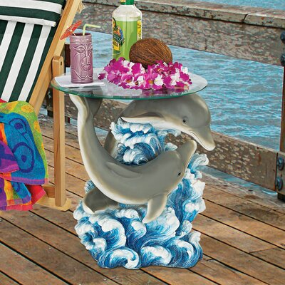 Dolphin Cove Side Table