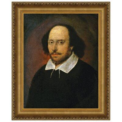 William Shakespeare Replica Framed Painting Print P01272
