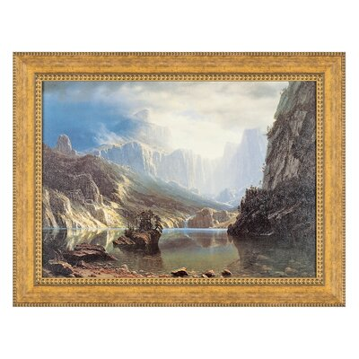 Sierra Nevada, 1868 Replica Painting Canvas Art Size: Grande P01084