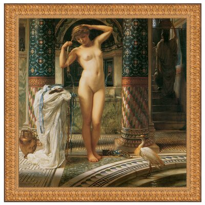 Diadumene, 1884 by Sir Edward John Poynter Framed Painting Print P02302