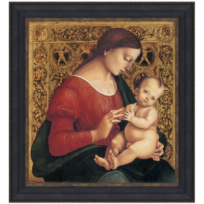 Madonna and Child, 1506 by Luca Signorelli Framed Painting Print Size: Grande P03264