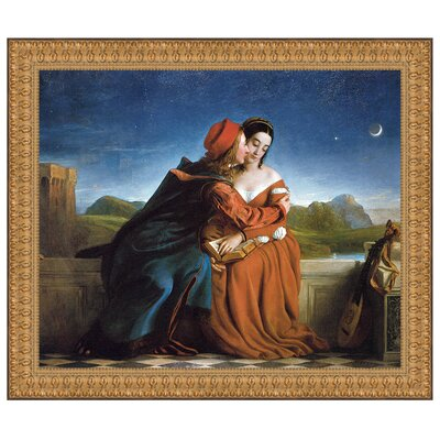 Francesca Da Rimini, 1837 by William Dyce Framed Painting Print Size: Grande P03074