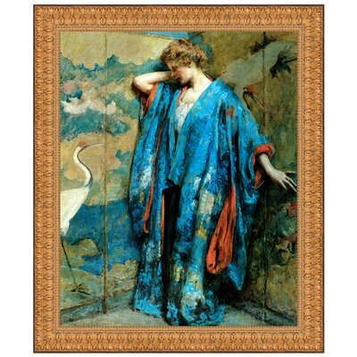 Blue and Yellow, 1910 Replica Framed Painting Print Size: Grande P03464