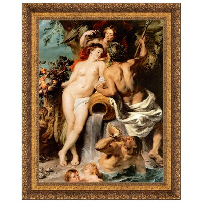 The Union of Earth and Water, 1618 by Peter Paul Rubens Framed Painting Print P02352
