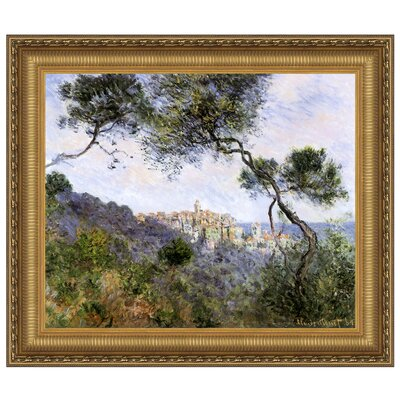 Bordighera, Italy, 1884 by Claude Monet Framed Painting Print Size: Grande P04104