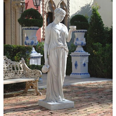 Hebe The Goddess of Youth Statue Size: Estate