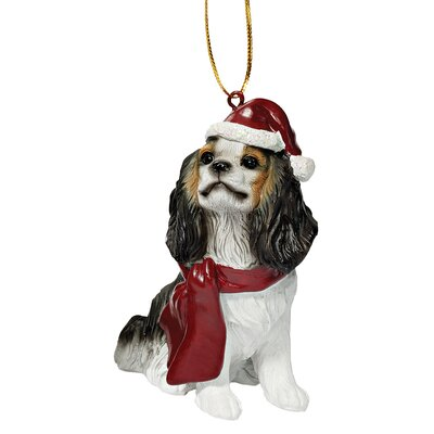 Design Toscano Charles Cavalier Holiday Dog Ornament Sculpture at Sears.com