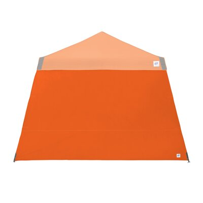 Recreational Sidewall with Angle Leg Color: Steel Orange