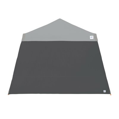 Recreational Sidewall with Angle Leg Color: Steel Grey