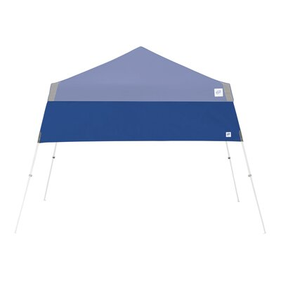 Recreational Half Wall with Angle Leg Color: Royal Blue