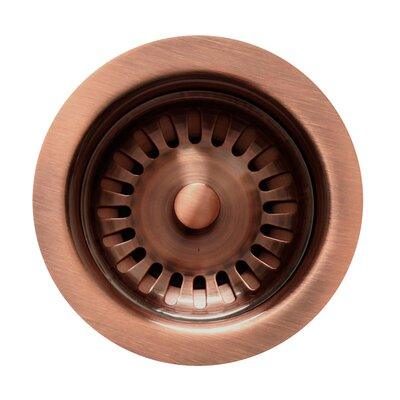 Rainbow Grid Kitchen Sink Drain Finish: Antique Copper